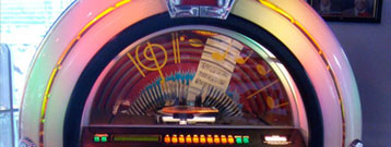 Fifties Diner with Jukebox
